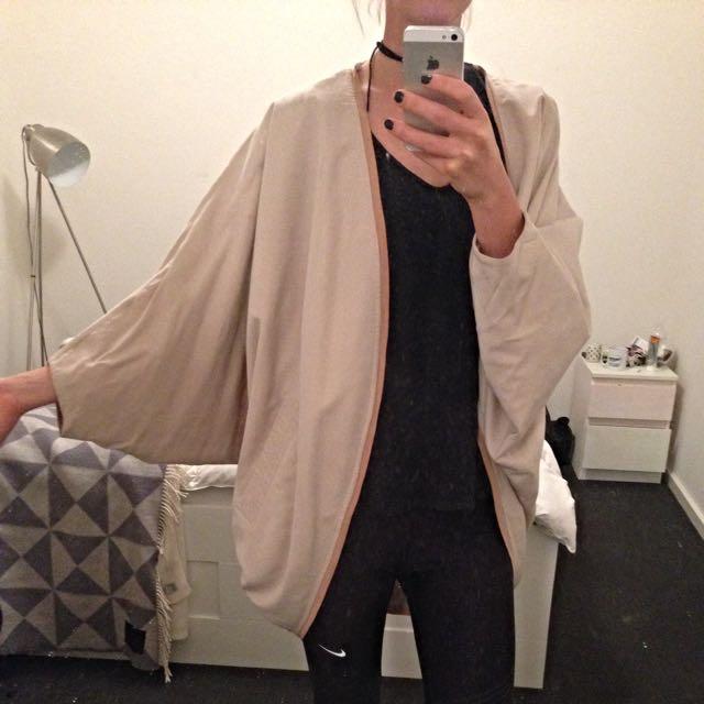 H&M Batwing Coat Size 34