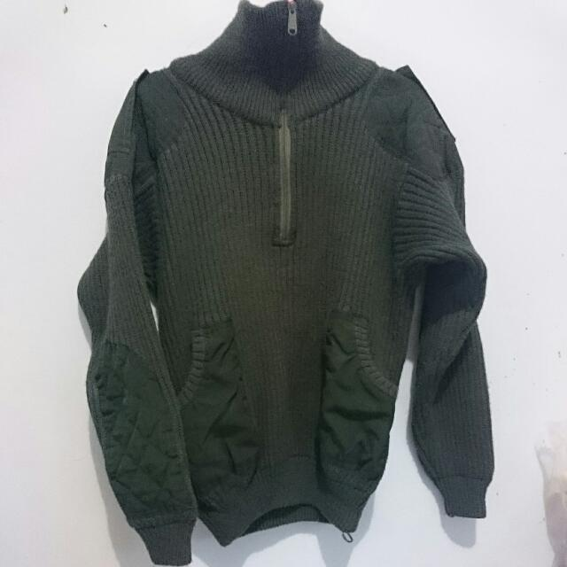 Knit Green Army
