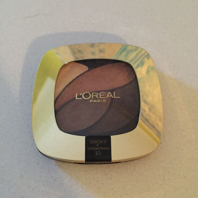 Loreal Eyeshadow Palette Slightly Used