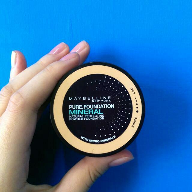 Maybelline礦物蜜粉