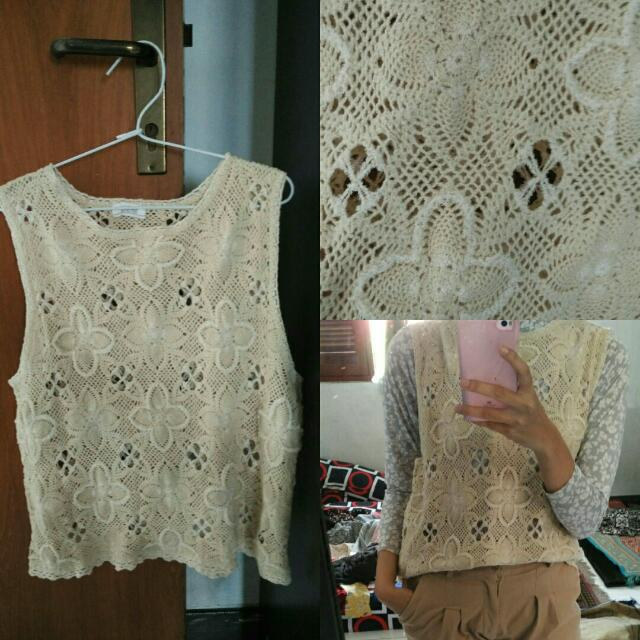 Rompi Knit B.White