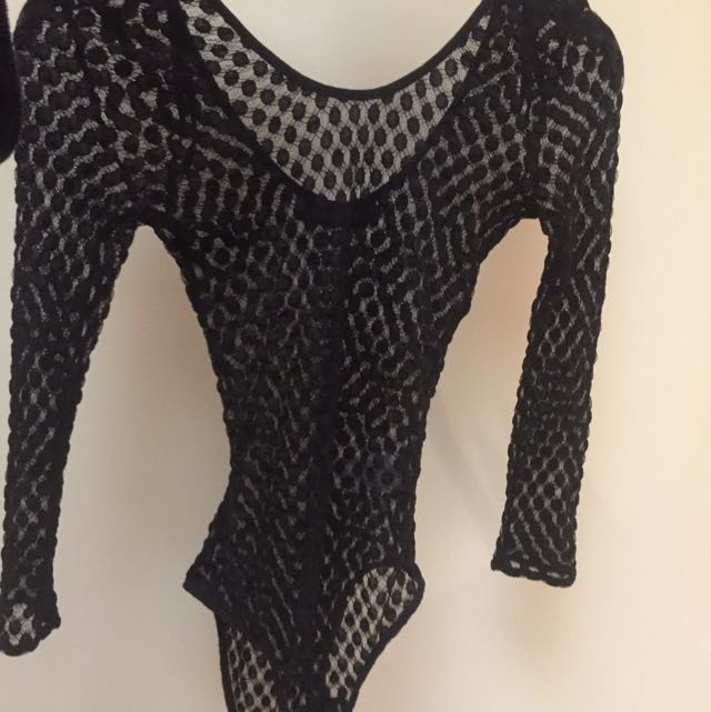 Sexy See Thru leotard