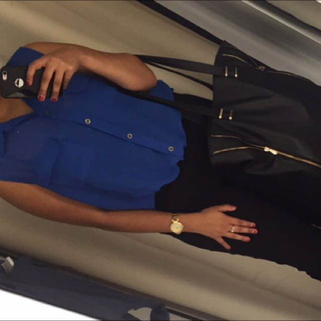 Size 12 - Blue Work Top