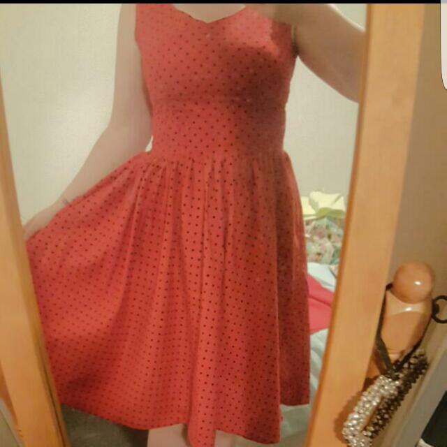 Size Large Pin Up Dress