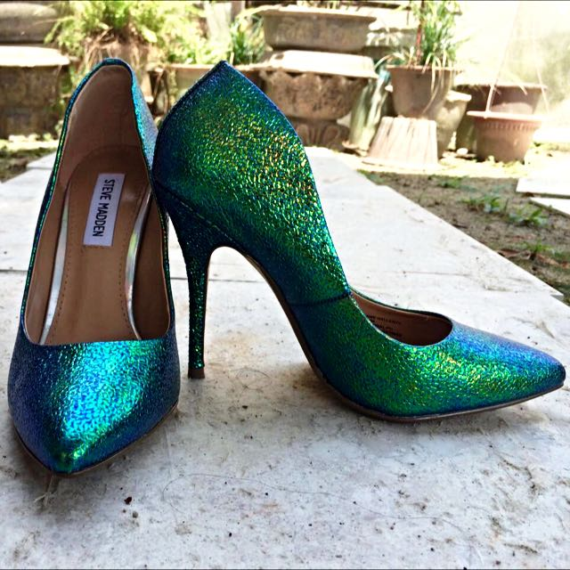 c0b91b0affe Steve Madden Rainbow Oil Slick Shoes