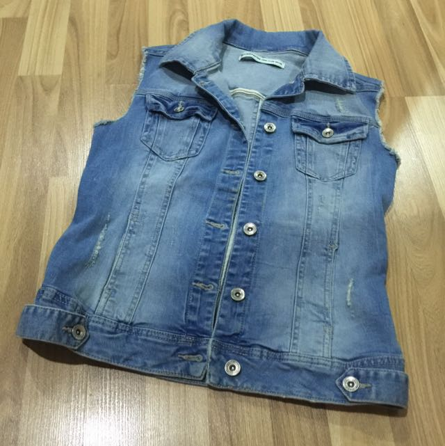 Stradivarius Denim Vest