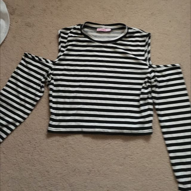 Supré Long Sleeved Crop Top