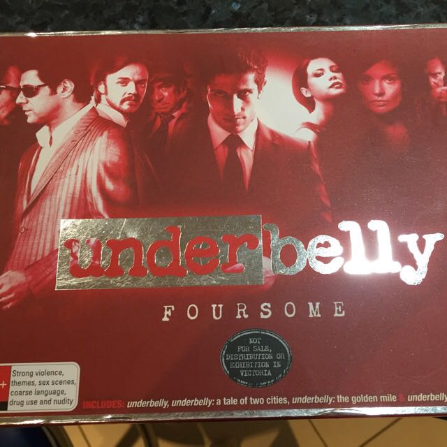 Underbelly Foursome 18 DVDs