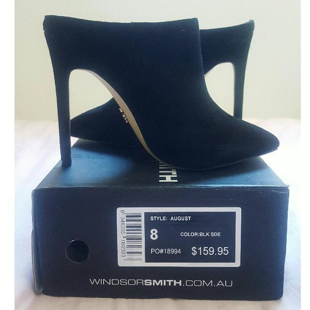 Windsor Smith Suede Heels Size 8