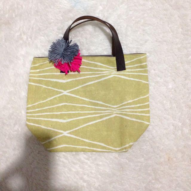 Yellowish 2 Small Tote Bag