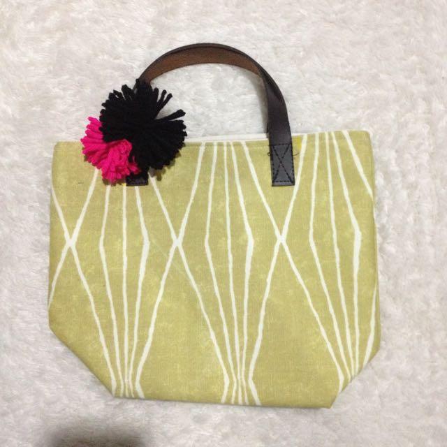 Yellowish Small Tote Bag