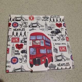 London Style Notebook (make a plan)