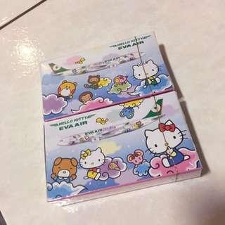 長榮航空 Hello Kitty 撲克牌 桌遊 蒐集 凱蒂貓 雲朵彩繪機