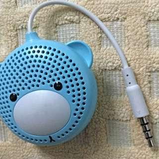Mini Blue Bear Speaker