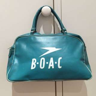 Vintage BOAC Airlines Handbag