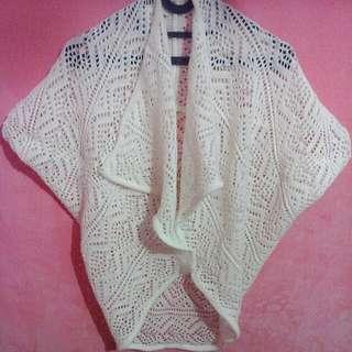 White Knitt Outer