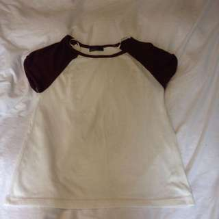 Ally Fashion Baseball Tee Sz 10