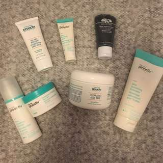 Proactiv Acne Preventing Facial Cleansers And Creams