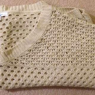 3/4 Sleeved Knit Top - Valleygirl