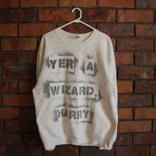 XL Yer A Wizard Harry Jumper