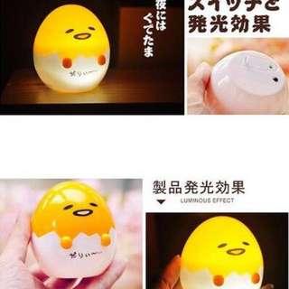 蛋黃哥造型小夜燈(預購款)