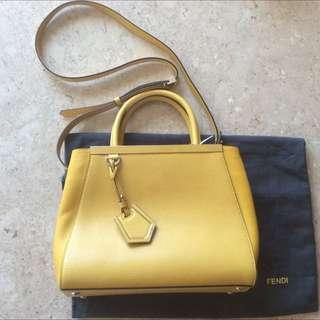 Authentic Fendi Handbag Fendi Shopping 2jours Petite Tote