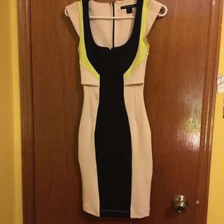 FRENCH CONNECTION knee Length Dress Size 0