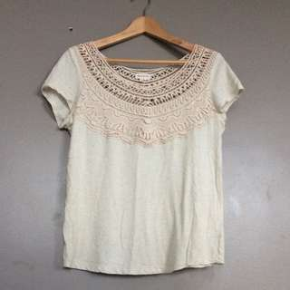 Cute, embrodery top