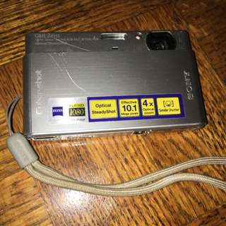 Sony Cyber shot Camera With 2gb Memory Stick