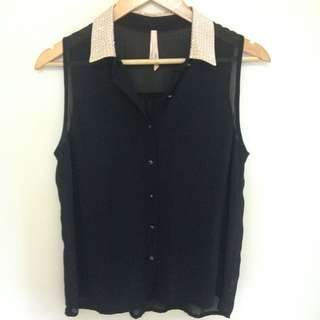 *Size S Ally Blouse