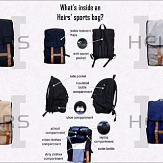 Heirs Sports Bag