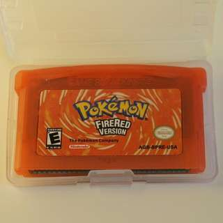 Pokemon Firered for Nintendo GBA