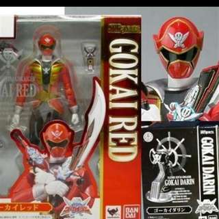 WTB Gokai Red With Darin