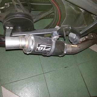 Exzos Pipe Yamaha LC 135
