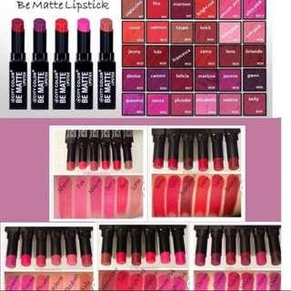 City Color Be Matte Lipstick Salmon