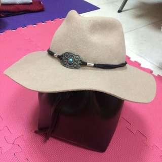Mango 羊毛製 歐美明星愛用款 紳士帽