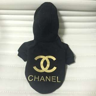 Chanel Hoodie For Small Puppy / Kitten