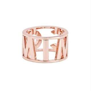 Mimco Rose Gold Ecstatic Ring