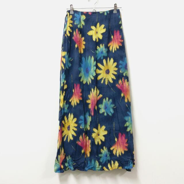 輕薄舒適綿質印花長裙㊝任三件150元