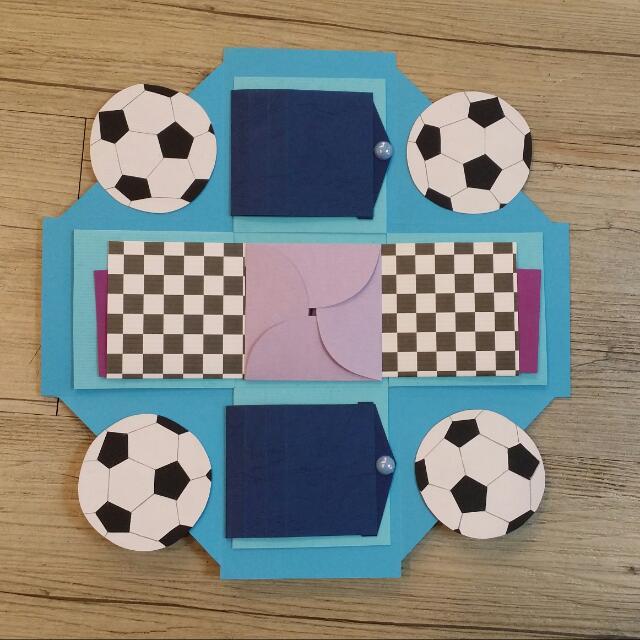 足球禮物盒