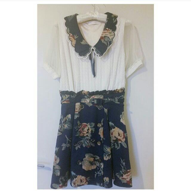 REDUCED! ~ LIZ LISA two-in-one top and skirt ~