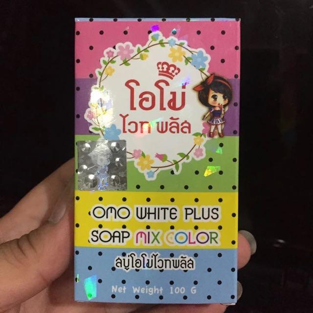 泰國 omo 彩虹皂 美白 手工 正品