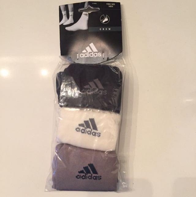 Adidas Socks 3 Pack