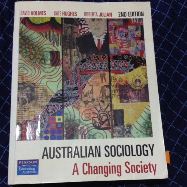 Australian Sociology A Changing Society Textbook