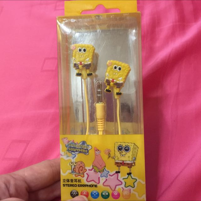BNIB SpongeBob Square Pants Earpiece