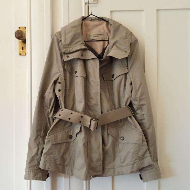 Burberry Brit Beige Coat UK 16