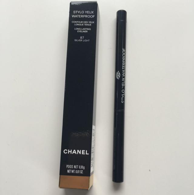 Chanel Stylo Yeux Waterproof Silver Eyeliner