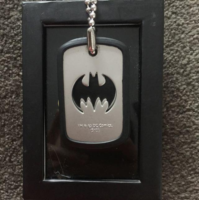 DC COMICS Batman Dog Tag