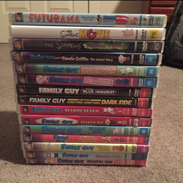Family Guy And Other DVDs