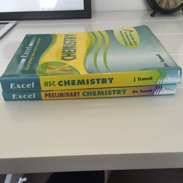 HSC + Prelim Chemistry Excel Textbooks